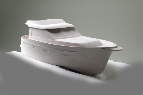 1:10 model of the new design