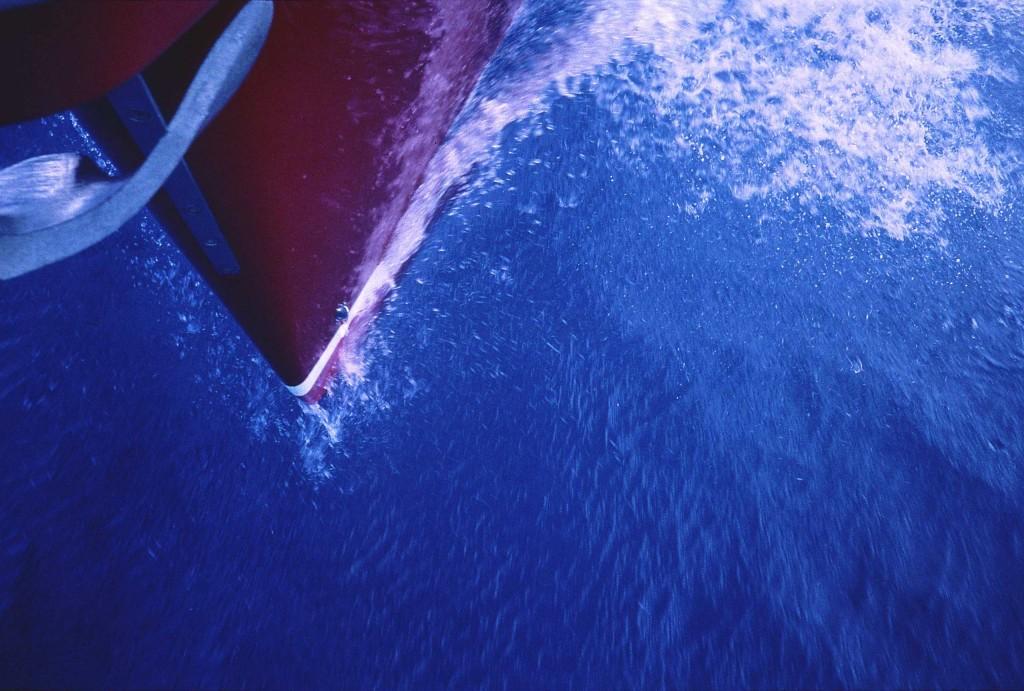 Fantasi 44 'Tinto II', sharp bow, smooth wave making