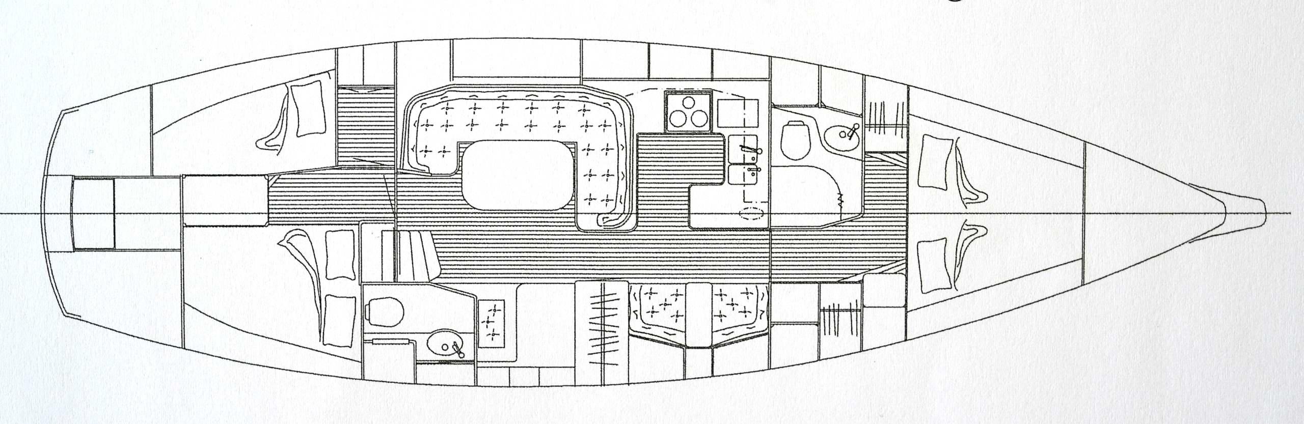 F44 Pilot House #20, Vindöga, General Arrangement