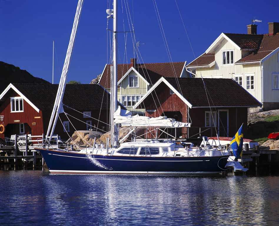 Fantasi 44 on Dyngö, off the West Coast of Sweden