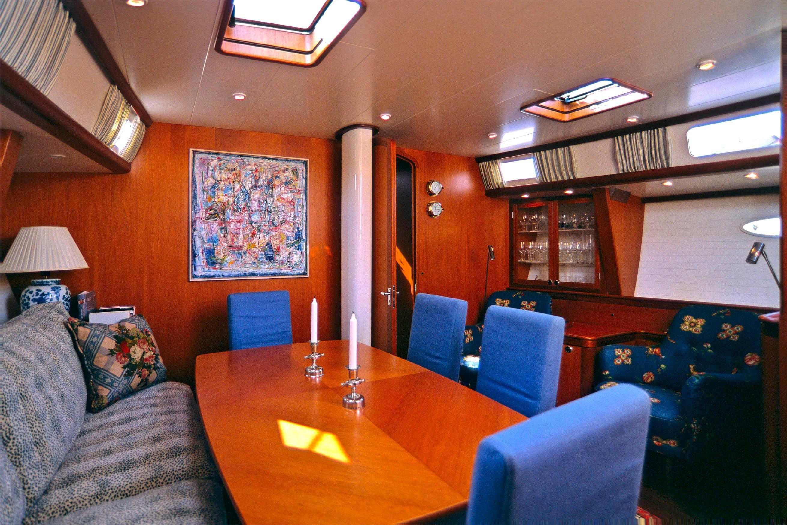 Heyman 57' Main Cabin