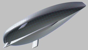 Shoal draft keel, protected balanded rudder, daggerboards