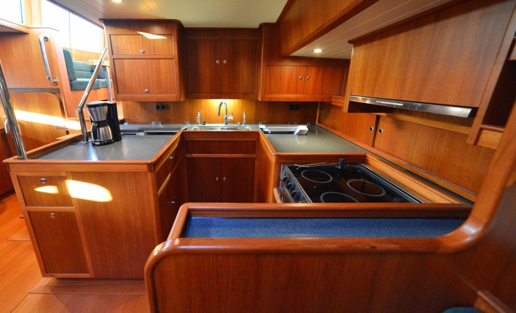 64' Galley, aft to port side