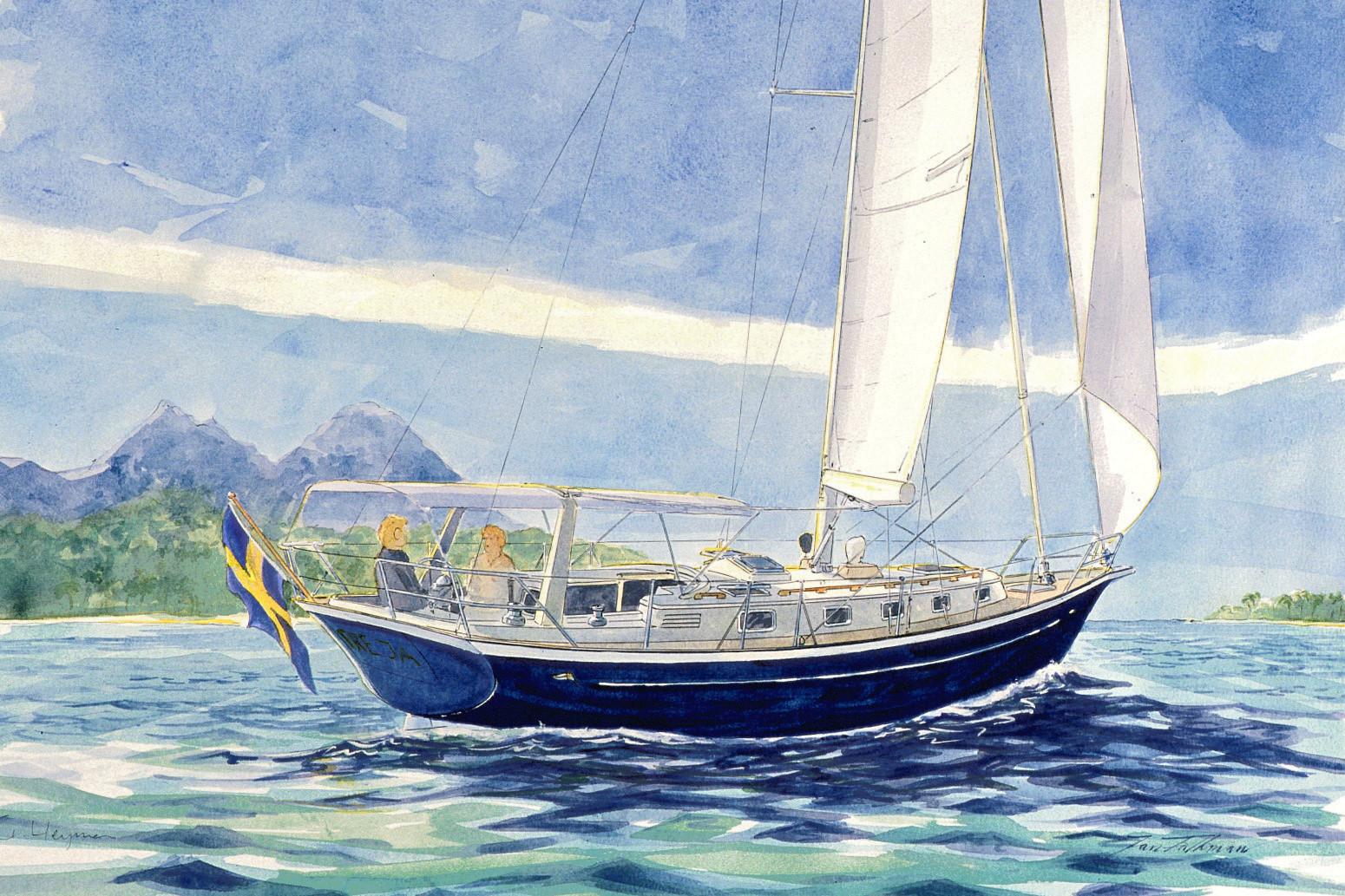 43' Freja in Tropical Waters