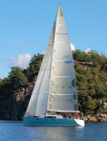 Celeste Coupé sail plan