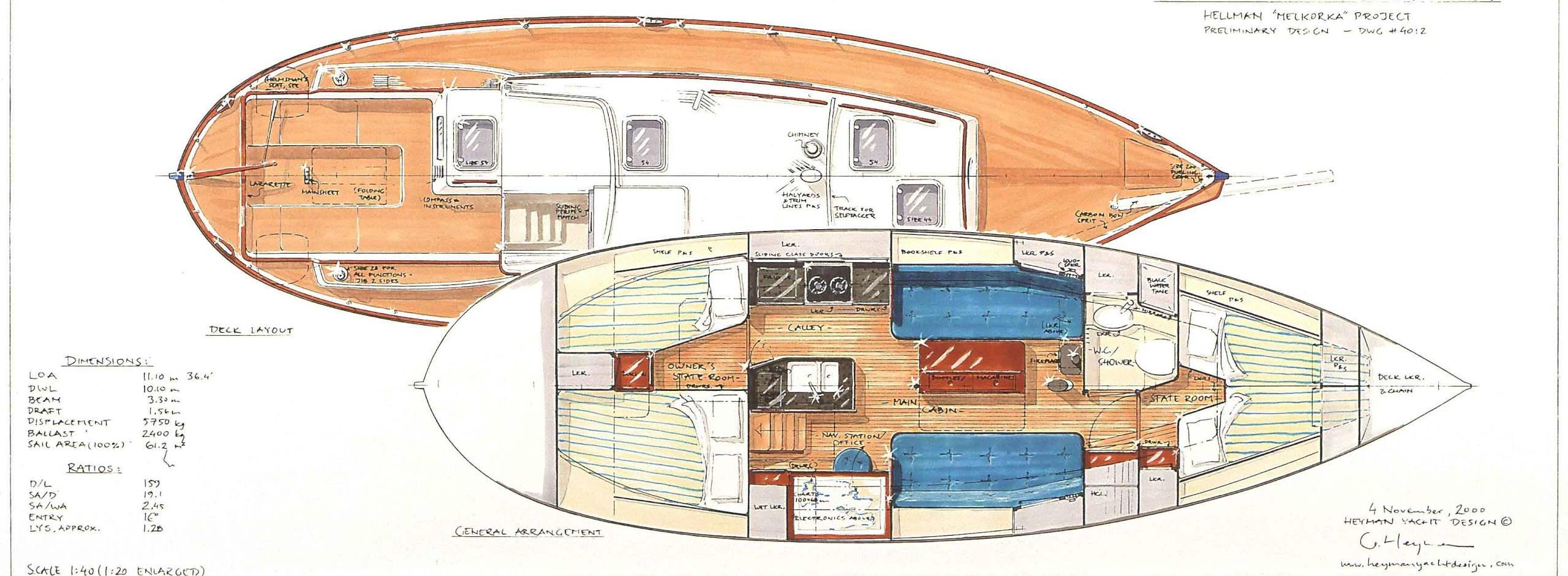 36' earlier design